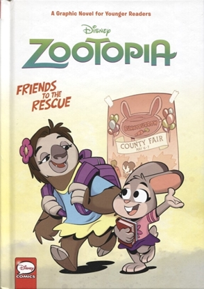 Picture of DISNEY ZOOTOPIA FRIENDS TO THE RESCUE HC