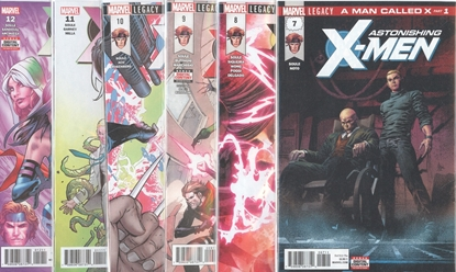 Picture of ASTONISHING X-MEN #7-12 A MAN CALLED X SET NM