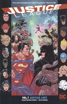 Picture of JUSTICE LEAGUE TP VOL 07 JUSTICE LOST