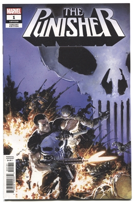 Picture of PUNISHER #1 CRAIN VAR
