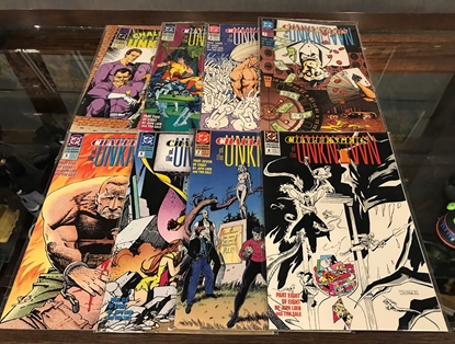 Picture of CHALLENGERS OF THE UNKNOWN (1991) #1-8 SET VF/NM