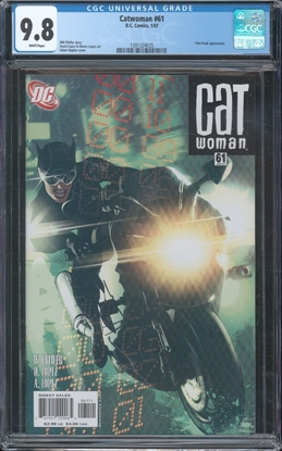 Picture of CATWOMAN (2002) #61 CGC 9.8 NM/MT WP