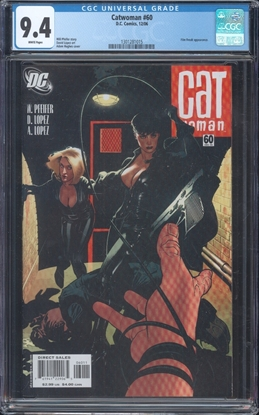 Picture of CATWOMAN (2002) #60 CGC 9.4 NM WP