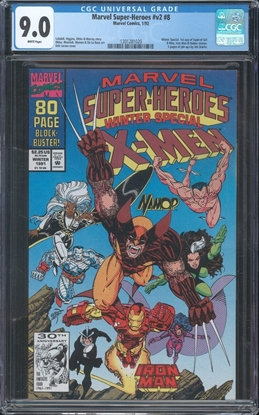 Picture of MARVEL SUPER-HEROES V2 (1991) #8 CGC 9.0 VF/NM WP