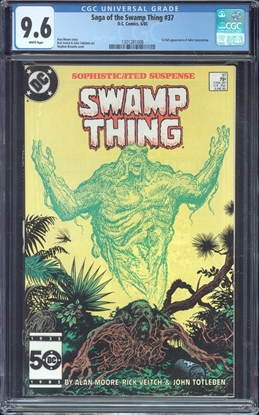 Picture of SAGA OF THE SWAMP THING (1982) #37 CGC 9.6 NM+ WP