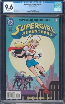 Picture of SUPERMAN ADVENTURES #21 CGC 9.6 NM+