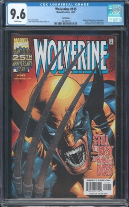 Picture of WOLVERINE (1988) #145 CGC 9.6 NM+ WP
