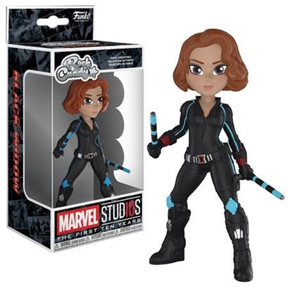 Picture of FUNKO ROCK CANDY MARVEL STUDIOS THE FIRST TEN YEARS BLACK WIDOW NEW VINYL COLLECTIBLE