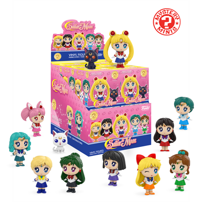 Picture of FUNKO SAILOR MOON MYSTERY MINI 12PC