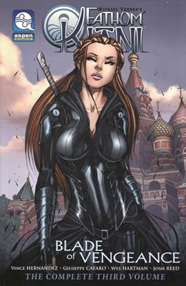 Picture of FATHOM KIANI TP VOL 03 BLADE OF VENGEANCE