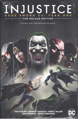 Picture of INJUSTICE GODS AMONG US YEAR ONE DELUXE ED HC BOOK 1