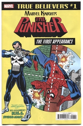Picture of TRUE BELIEVERS PUNISHER FIRST APPEARANCE #1