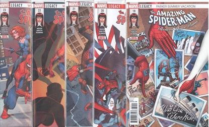 Picture of AMAZING SPIDER-MAN RENEW YOUR VOWS #19-23 SET