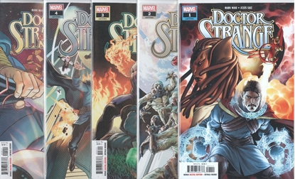 Picture of DOCTOR STRANGE #1-5 ACROSS THE UNIVERSE SET NM