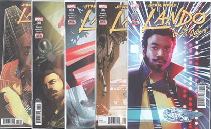 Picture of STAR WARS LANDO DOUBLE OR NOTHING #1-5 SET NM