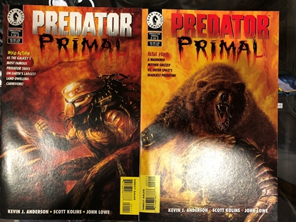 Picture of PREDATOR PRIMAL #1 & 2 SET