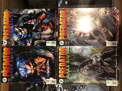 Picture of PREDATOR DARK RIVER #1 2 3 4 SET