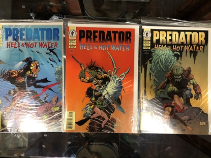 Picture of PREDATOR HELL & HOT WATER #1 2 3 SET