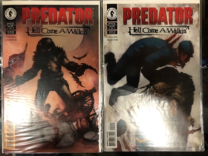 Picture of PREDATOR HELL COME A-WALKIN #1 & 2 SET