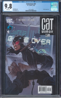 Picture of CATWOMAN (2002) #47 CGC 9.8 NM/MT WP