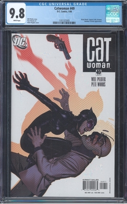 Picture of CATWOMAN (2002) #49 CGC 9.8 NM/MT WP