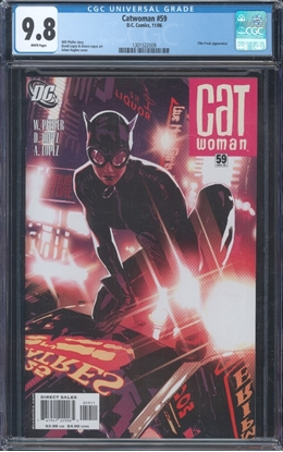Picture of CATWOMAN (2002) #59 CGC 9.8 NM/MT WP
