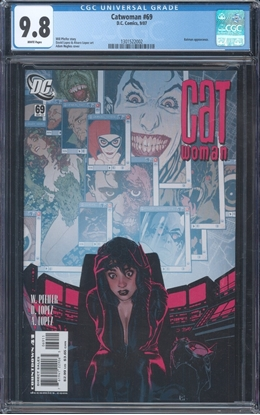 Picture of CATWOMAN (2002) #69 CGC 9.8 NM/MT WP