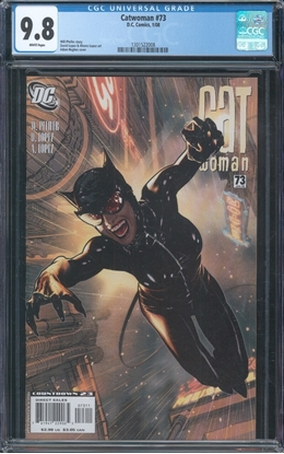 Picture of CATWOMAN (2002) #73 CGC 9.8 NM/MT WP