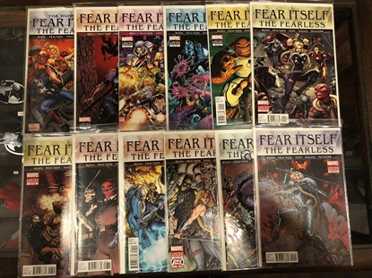 Picture of FEAR ITSELF: THE FEARLESS #1-12 BUNN/FRACTION