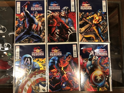 Picture of CAPTAIN AMERICA REBORN #1 2 3 4 5 SET