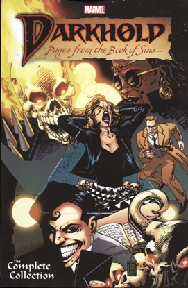 Picture of DARKHOLD TPB PAGES FROM BOOK OF SINS COMPLETE COLLECTION