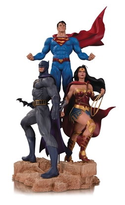 Picture of DC DESIGNER SER TRINITY BY JASON FABOK STATUE