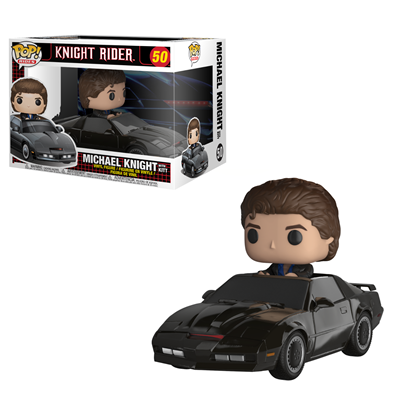 Picture of FUNKO POP RIDES KNIGHT RIDER MICHAEL KNIGHT W/ KITT #50 NEW VINYL FIGURE
