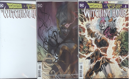Picture of WONDER WOMAN & JL DARK WITCHING HOUR #1 CVR SET