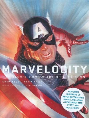 Picture of MARVELOCITY MARVEL COMIC ART ALEX ROSS HC