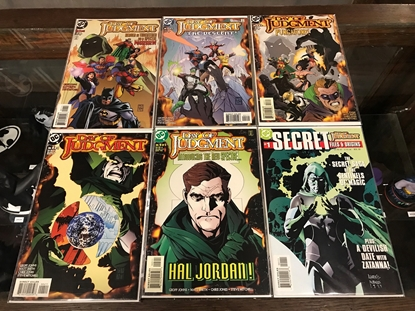 Picture of DAY OF JUDGMENT (1999) #1-5  SET VF/NM