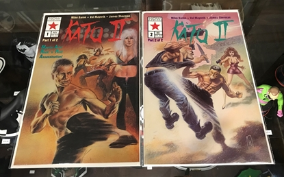 Picture of KATO OF THE GREEN HORNET II (1992) #1-2 SET