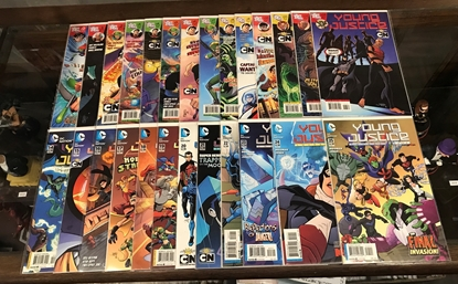 Picture of YOUNG JUSTICE (2011) #0-25 COMPLETE SET