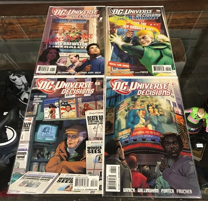 Picture of DC UNIVERSE DECISIONS (2008) #1-4 SET NM-