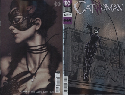 Picture of CATWOMAN #4 1ST PRINT FOIL AND VARIANT COVER SET
