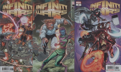 Picture of INFINITY WARS #4 (OF 6) 3-COVER SET