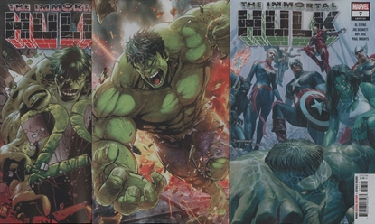 Picture of IMMORTAL HULK #7 3-COVER SET