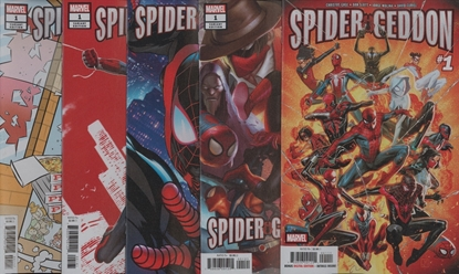 Picture of SPIDER-GEDDON #1 (OF 5) 5-COVER SET - copy