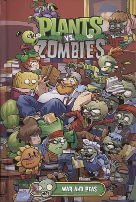 Picture of PLANTS VS ZOMBIES WAR AND PEAS HC (C: 1-1-2)