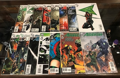 Picture of BRIGHTEST DAY GREEN ARROW (2010) #1-15 SET VF/NM