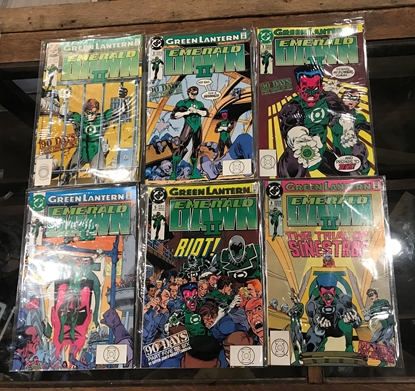 Picture of GREEN LANTERN: EMERALD DAWN II (1991) #1-6 NM SET BY KEITH GIFFEN (C1)