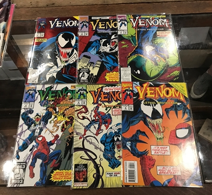 Picture of VENOM LETHAL PROTECTOR #1 2 3 4 5 6 COMPLETE SET  MINI SERIES NM-