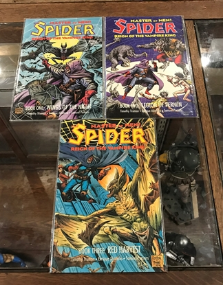 Picture of MASTER OF MEN THE SPIDER  REIGN OF THE VAMPIRE KING #1-3 VF/NM