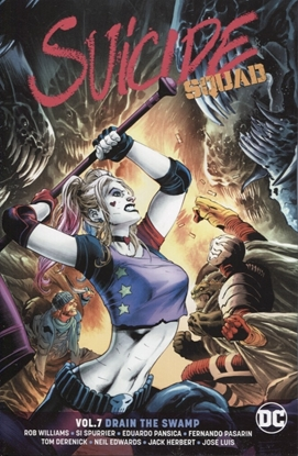 Picture of SUICIDE SQUAD TP VOL 07 DRAIN THE SWAMP REBIRTH