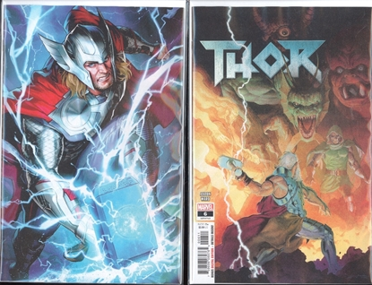 Picture of THOR #6 COVER SET NM
